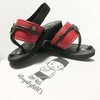 Baby & Kids Capal Raya (Black/Red)