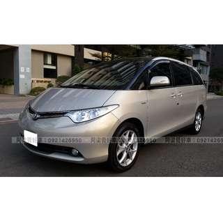 2009年-豐田-PREVIA 買車不是夢想.輕鬆低月付.歡迎加LINE.電(店)洽