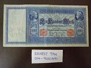 Germany Reichsbanknote 100 mark (1910)
