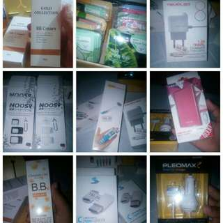 Looking for (car charger,face mask,power bank,nano sim adapter.etc)