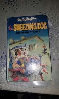 Enid Blyton the sneezing dog