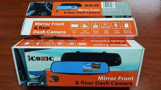 iCONIC Mirror Front and Rear Dash Camera