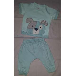 Hush Hush Toddler Shirt with Jogger Pants