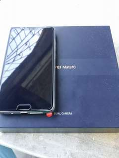 Huawei Mate 10 64gb black 2 months old RUSH