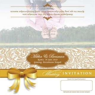 Cetak undangan pernikahan - 005