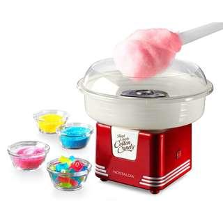 Nostalgia Hard Candy Cotton Candy Machine