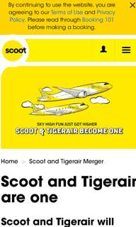 Scoot Air Ticket to Gold Coast for 2 pax