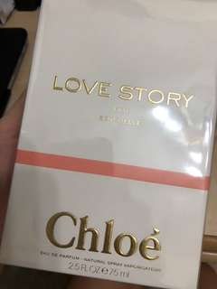 Brand new sealed Chloe love story eau sensuelle