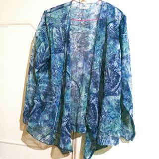 日本製 夏日海洋防曬罩衫