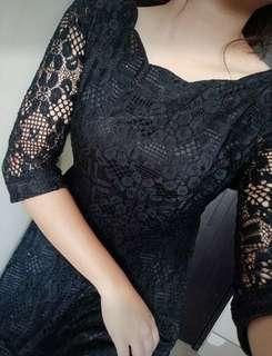 2pcs small Laced Dress + 1 palda shorts D11