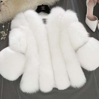 BN Faux Fur Jacket Bolero