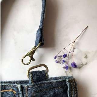 *Denim系列 — 休閒手提小提袋
