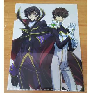 Code Geass Lelouch Of The Rebellion Episode 1 コードギアス 反逆のルルーシュ I 興道 Clear File Featured Lelouch and Suzaku