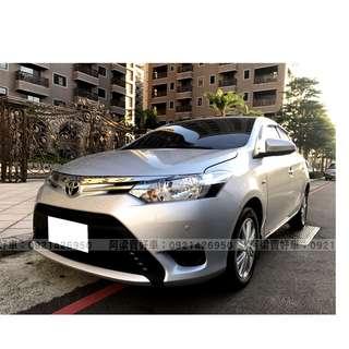 2015年-豐田-VIOS 買車不是夢想.輕鬆低月付.歡迎加LINE.電(店)洽
