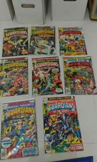 Marvel Guardians of the galaxy comic
