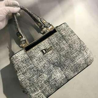 Dior Tote Bag Grey Color