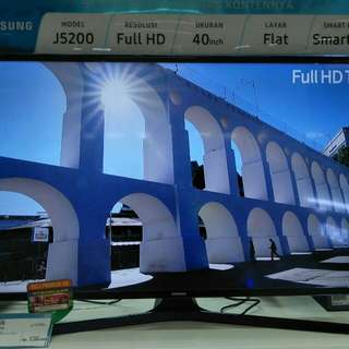 Samsung Full HD smart TV 40 inch cicilan ringan free admin free 1x cicilan