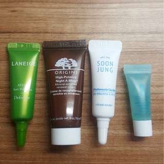 Skin Care Testers