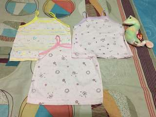 Preloved Baby Girl Sando fit up to 12 months. Like new.