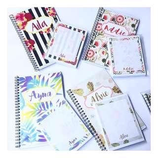 Spiral Notebook + Notepad