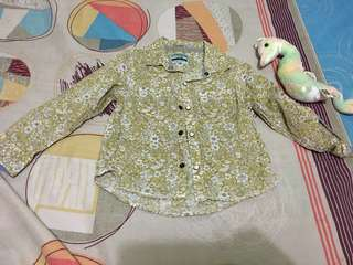 Preloved Baby Boy Longsleeve size up to 18 months. Like new, pwd dn png girl.