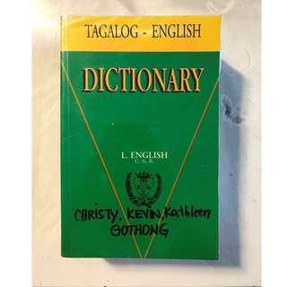 Tagalog - English Dictionary