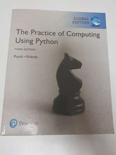 The Practice of Computing Using Python 3rd Ed