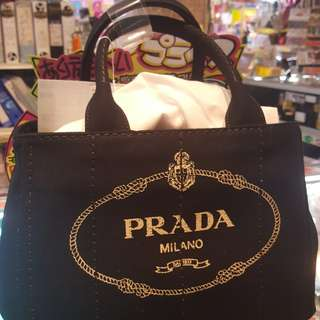 Brandnew prada canapa 2 way bag