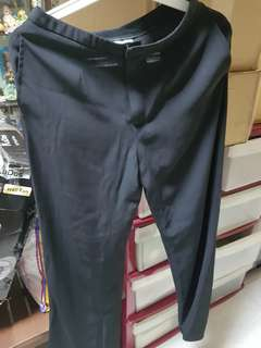 Mphosis Linen Black Long Pants