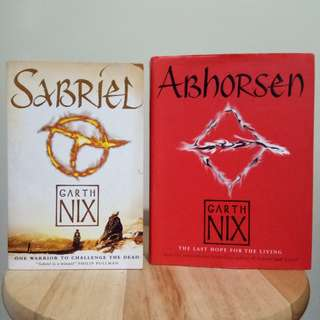 [Set] Sabriel and Abhorsen by Garth Nix