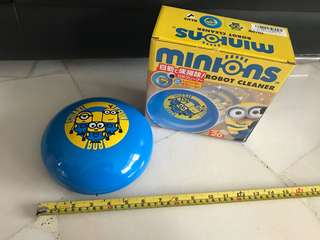 Minion robot cleaner - A