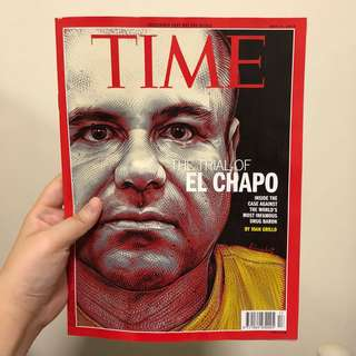 TIME Magazine The Trial of El Chapo