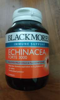 Blackmores Echinacea Forte 3000 120 Tablets