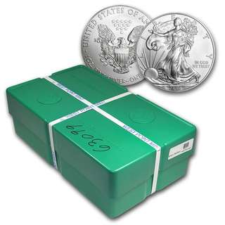 1oz American Silver Eagles 2011 sealed monster box