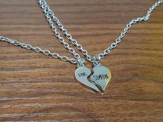 Love Simon Necklace