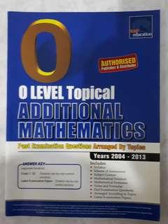 O Level Topical Additional Mathematics