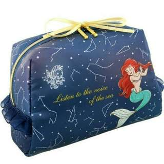 free mail* Little Mermaid Ariel Starry Cosmetic Bag
