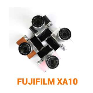 Kredit Kamera Fujifilm XA 10 kit 16 - 50 mm acc 3 mnt ready Laptop PS4 HP PS3