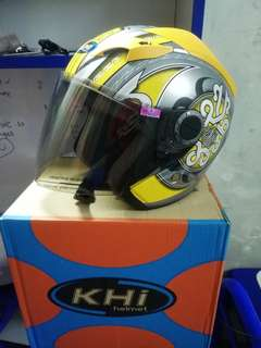KHi helmet handmade for swap with fullface