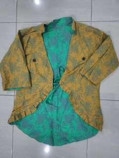 Bolero Batik Bolak Balik