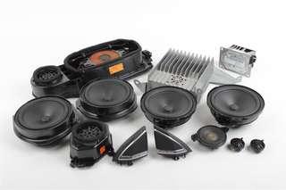 Original Mercedes CLS Harman Kardon Surround Sound System.