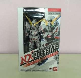 Bandai NXedgestyle - Unicorn Gundam (Destroy Mode)  MS Unit - NX-0015 nxedge
