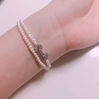 「需時訂製」迷你淡水珍珠手鍊頸鍊戒指