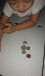 Uang jadul dan uang tetangga