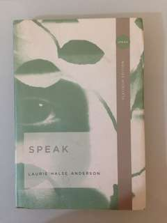 Laurie Halse Anderson - Speak