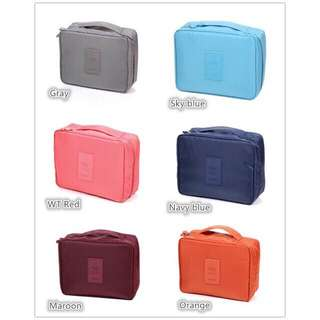 Washbag travel cosmetic pouchp