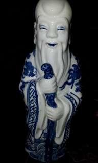 vintage shou statue with potter mark