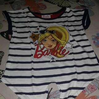 Kaos Barbie Anak