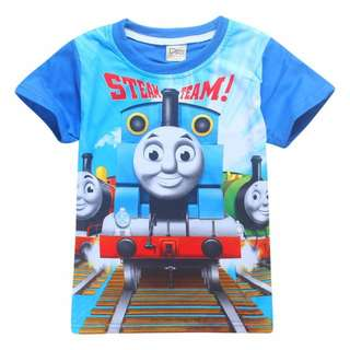 size 100/140, brand new thomas and friends t shirt kids toddler cotton material short sleeve very nice and comfortable