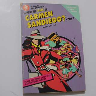Where in time is Carmen San Diego